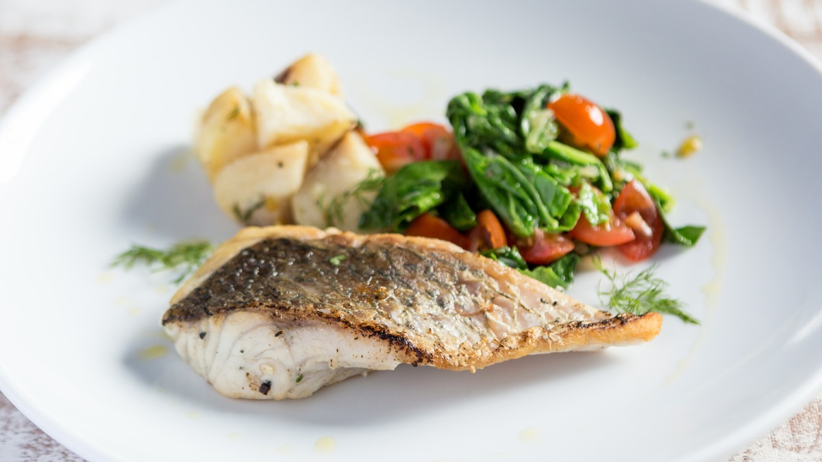 Grilled Barramundi