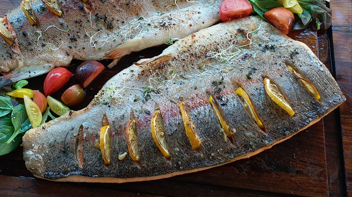 Bertha Baked Half Filleted Salmon